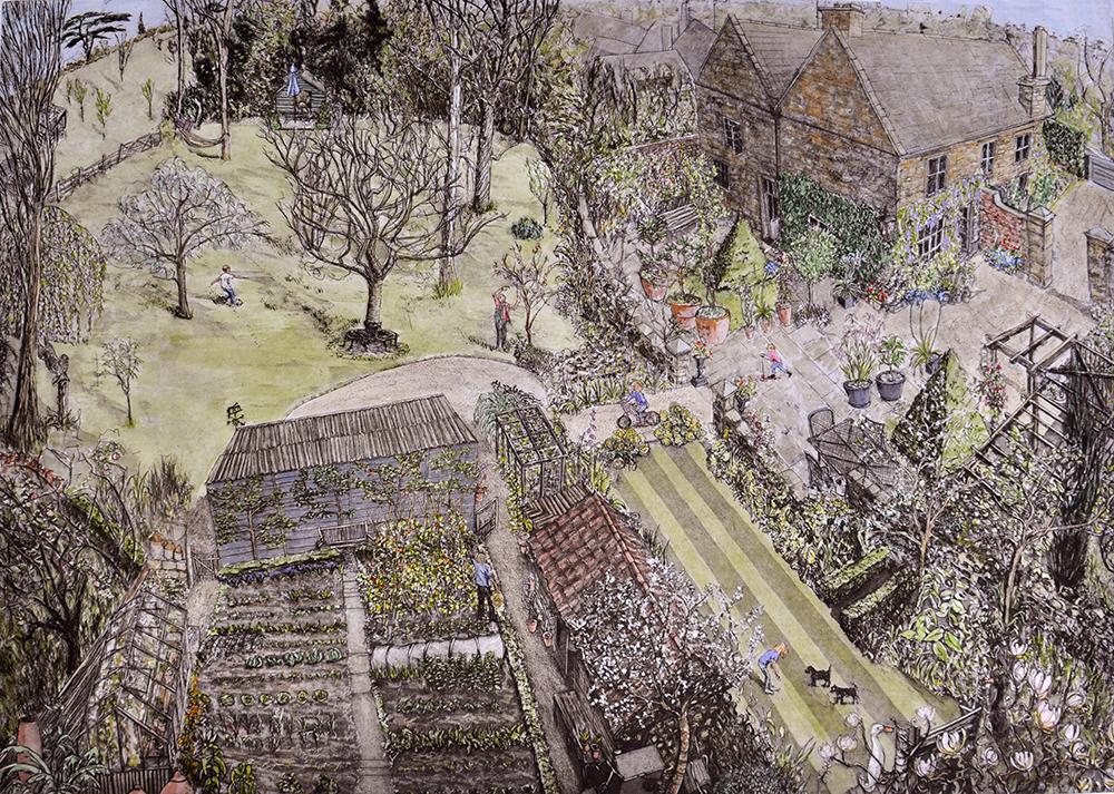 Garden, Martock, Somerset