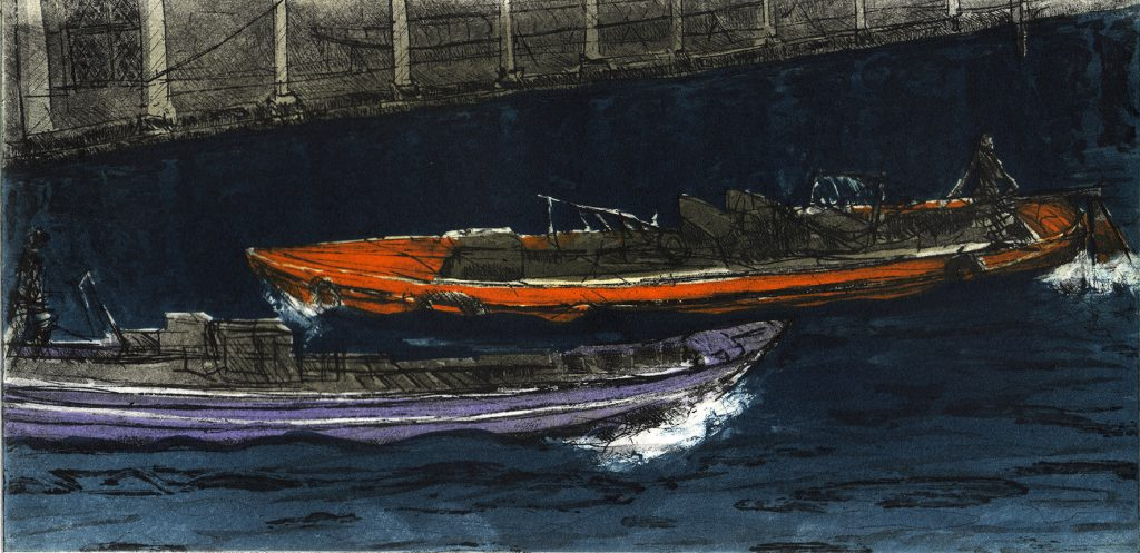 Venice Boats VII (Canal Grande)