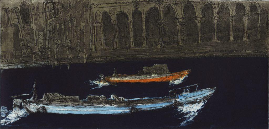 Venice Boats VI (Canal Grande)